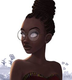 Broke you can't put you back together ✧*°* ↠ mxsicandbands ↞ black art in 2019 Black Girl Art, Black Women Art, Art Girl, Black Girls Drawing, Black Girl White Hair, Black Girl Quotes, Black Girl Cartoon, Art Women, African American Art