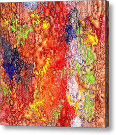 #Colorful #MixedMedia #Canvas #Pinting / #Sculpure #Art By #JuliaApostolova
