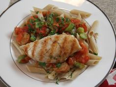 Put the store-bought tomato sauce back on the shelf and make your own in this recipe for Penne with Fresh Tomato Sauce, Asparagus and Grilled Chicken.
