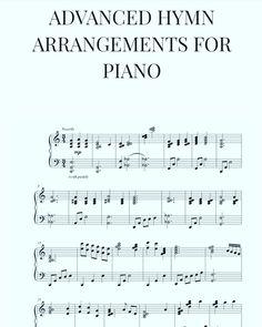 Advanced Hymn Arrangements for Piano Digital Sheet Music, Free Sheet Music, Piano Sheet Music, Piano Jazz, Kids Piano, Piano Lessons, Music Lessons, Organ Music, Church Music