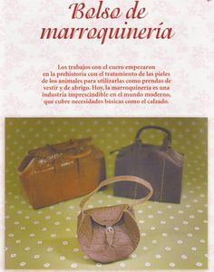 BOLSOS - Marisol Perez - Picasa-Webalben.    Tutorial in Spanish; love it!
