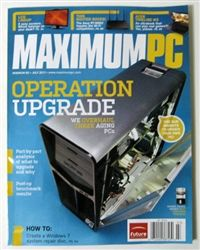 Maximum PC July 2012 Tech Magazines, Job S, Technology, Tech, Engineering