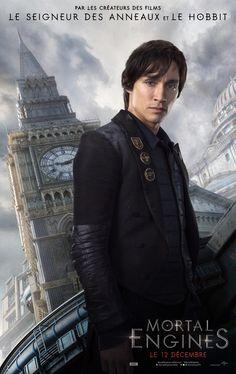 Robert Sheehan incarne Tom Natsworthy dans Mortal Engine.