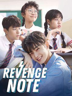 Revenge note Korean Drama Romance, Korean Drama List, Korean Drama Quotes, Korean Drama Movies, Boys Over Flowers, Revenge Season 1, Fated To Love You, Chines Drama, Web Drama