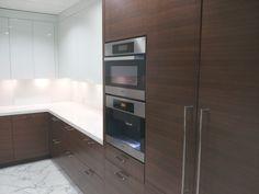 Modern Kitchen installation - Penthouse Suite Valkyrie Woodwork