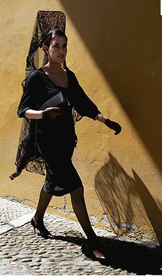 Spanish Mantilla...