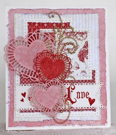 Hi! Welcome back to my latest card for Cheery Lynn Designs !   Do you feel the Love in the air? Well it's almost Valentine's Day and I...