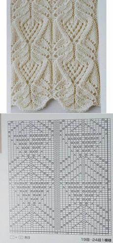 Knitting Machine Patterns, Lace Knitting Patterns, Knitting Stiches, Knitting Charts, Easy Knitting, Stitch Patterns, Drops Design, Knitting Projects, Knit Crochet