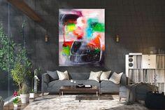 Items similar to Large Modern Wall Art Painting,Large Abstract wall art,painting colorful,xl abstract painting,canvas wall art on Etsy Large Abstract Wall Art, Large Canvas Art, Large Painting, Texture Painting, Large Wall Art, Canvas Wall Art, Painting Canvas, Texture Art, Large Art