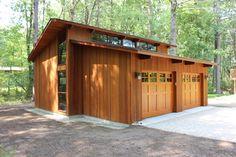 Deck House Garage