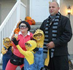 Halloween Costune idea - DESPICABLE FAMILY