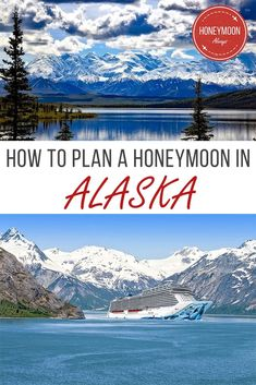 Alaska is a perfect location for a honeymoon in the US.  It may not be the tropical paradise that comes to mind when many think of a honeymoon, but it is a destination full of adventure with plenty of opportunity for romance.   #Alaska #honeymoon #travel #romanticgetaways #romance