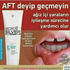 LR Microsilver diş macunu ağız içi yaralara ve diş eti çekilme ve kanamalarına birebir.  …http://www-sepetsepetyumurta-net.myideasoft.com/sayfa/lr-alove-vera …