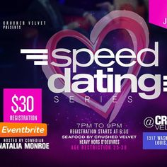 Old Town Alexandria Seated Speed Dating Tickets, Sat, Aug