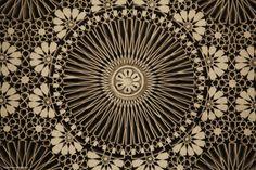 Ceiling of Grande Mosquée de Paris by Clémence  R. on 500px