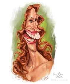 Julia Roberts | 29 Celebrity Caricatures That Are Incredibly Accurate