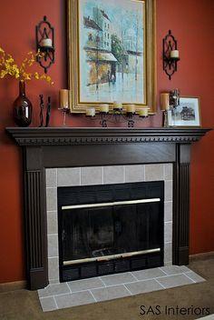 DIY: Fireplace Surround Transformation