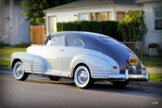1947 Chevrolet Fleetline 2 Door Car Chevrolet, Chevy, Vintage Cars, Antique Cars, Vintage Auto, Buick, Old Cars, Cars Motorcycles, Race Cars