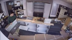 Küchenmontage Aufbau einer Küche Corner Desk, Furniture, Home Decor, Carpentry, House, Corner Table, Decoration Home, Room Decor, Home Furnishings