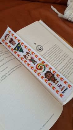 Firefly Cross Stitch Bookmark Handmade by HouseElfStitchery