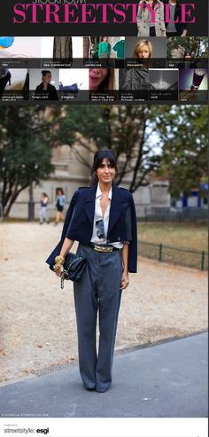 Ezgi Kiramer from Turkey. She has been working as personal shopper for several years,   consulting for fashion companies, free lance styling and giving seminars about image & style in fashion academy.  Elegance at every inch of her body.  Blog: luxuryshoppers.net