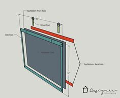 OMG, this sliding fireplace screen is amazing! Best of all, this blogger's tutorial teaches you how to make a barn door style fireplace screen without having to know how to weld. I can't wait to make one for my house ASAP.
