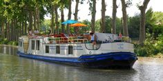 Clair de Lune - Spend some time on canals in France
