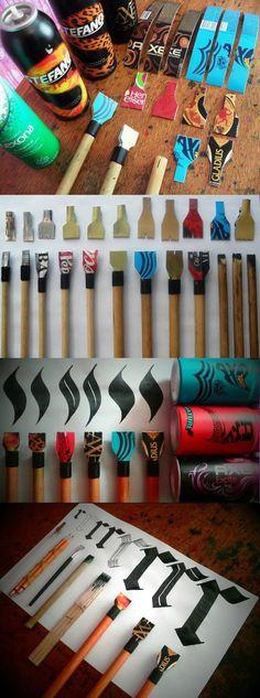 Geek Art Gallery: Tutorial: Cola Pens