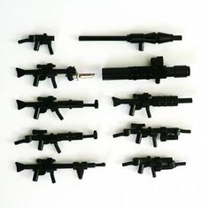 Gun Show - Purist Edition: A LEGO® creation by W. Mark : MOCpages.com