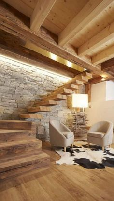 Wohnzimmer Inspiration - Wohnzimmer Inspiration - Best Picture For interior Stairs For Your Taste You are looking for something, Interior Design And Construction, Staircase Design, Cabin Homes, Living Room Inspiration, Design Inspiration, Interior Design Living Room, Design Interiors, Chalet Interior, Interior Stairs