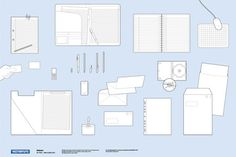 Stationary Vector Pack from designer-daily.com