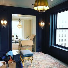 While the owners are away the designers will. Chicago Apartment, Gold Coast, Cottage Style, Wall Sconces, Oversized Mirror, Photo And Video, Interior Design, Building, Summer