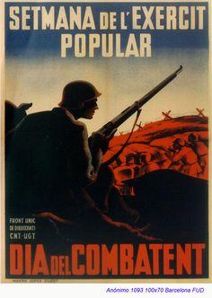Memoria republicana - Carteles - Ejército Popular