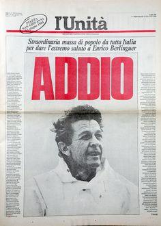 L'Unità 13 giugno 1984 Addio