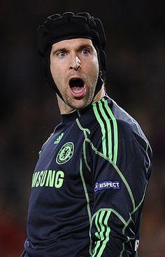 Petr Cech: Barcelona v Chelsea