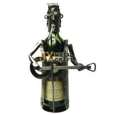 rocker wine bottle holder
