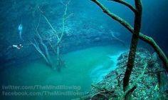 Onderwater rivier