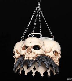 Gothic Dragon Furniture | lamp ceiling Skull Gothic - 766-9039 - metal-shop.eu