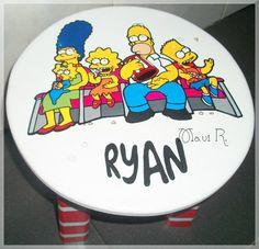 Banquito Los Simpsons