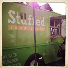 Grab a gourmet burger or empanadas from Stuffed Food Truck. #empanada #bugers