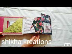 shikha kreations - YouTube Mini Albums, Envelope, The Creator, Youtube, Envelopes, Extended Play, Youtubers, Mini Scrapbooks, Youtube Movies