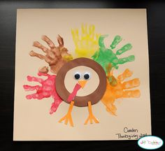 24 Easy Thanksgiving Crafts For Kids Ideas : Cute Thanksgiving Crafts For Kids