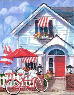 Seaside Cottage ~ Mary Kay Crowley