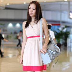Buy '59th Street – Color Blocking V-Neck Dress' with Free International Shipping at YesStyle.com. Browse and shop for thousands of Asian fashion items from Hong Kong and more!