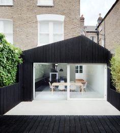 The Dove House is a modern extension project that was done by the architecture firm of Gundry & Ducker. The new structure was added to a Victorian terraced house in West London with a dark and narrow kitchen.