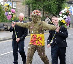 L'uomo selvatico: The Burryman