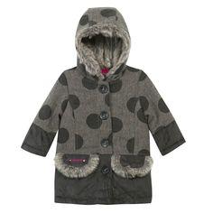 Abrigo gris topos F/W14