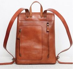 Unique Design Genuine Leather Backpack Multiple by TheArtistsSack