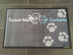 Fußmatte tierisch-tolle Geschenke! #fussmatte #doormat #matmaker Graphics, Pictures, Great Gifts, Ideas