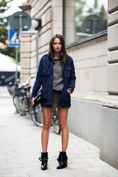 Columbine Smille Shows How To Perfect A Layered Spring Look (via Bloglovin.com )